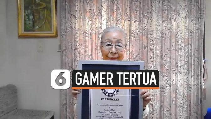 VIDEO: Mori Hamoko Dinobatkan sebagai Gamer Tertua di Dunia