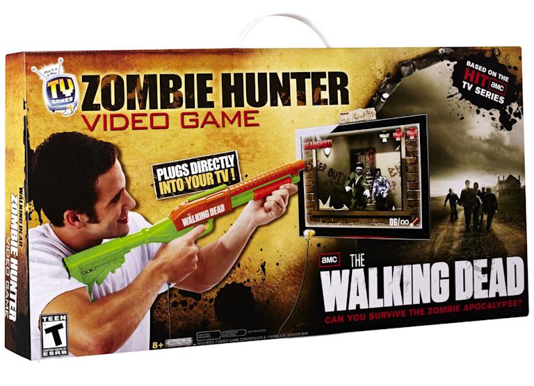 """Walking Dead"" Zombie Hunter Video Game"
