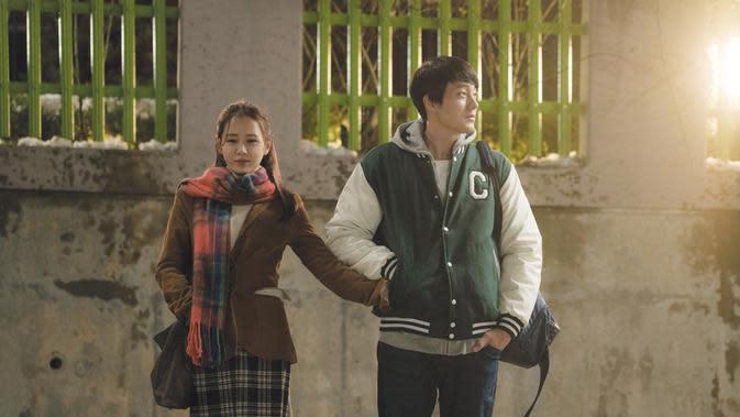 Salah satu adegan film Be With You. (Foto: Dok. Movie Rock)