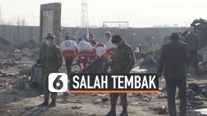 VIDEO: Salah Tembak Pesawat, Ini Sumpah Pemimpin Garda Revolusi Iran