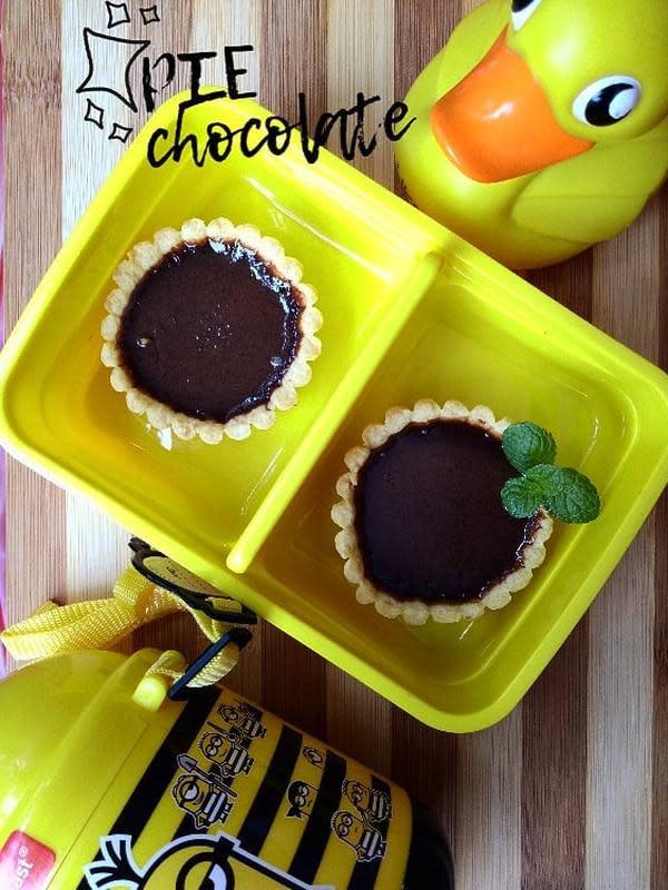 ilustrasi aneka resep pie coklat yang praktis, manis dan enak/Instagram: @dewiu