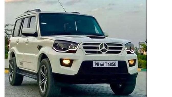 Mahindra-Benz Scorpio (Cartoq.com)
