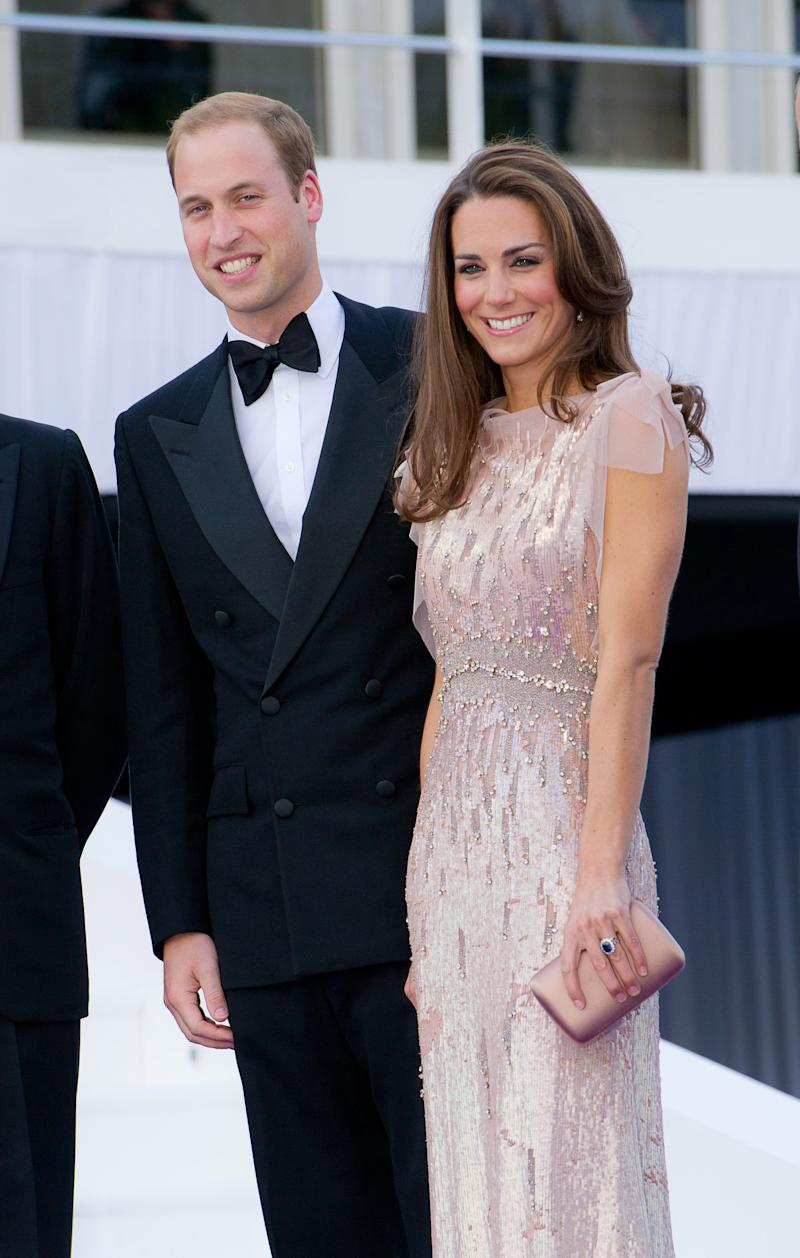 Prince William, Duke of Cambridge, Catherine and Duchess of Cambridge attend the 10th Annual ARK gala dinner at Kensington Palace on June 9, 2011 in London, England. (Photo by Nick Harvey/WireImage)