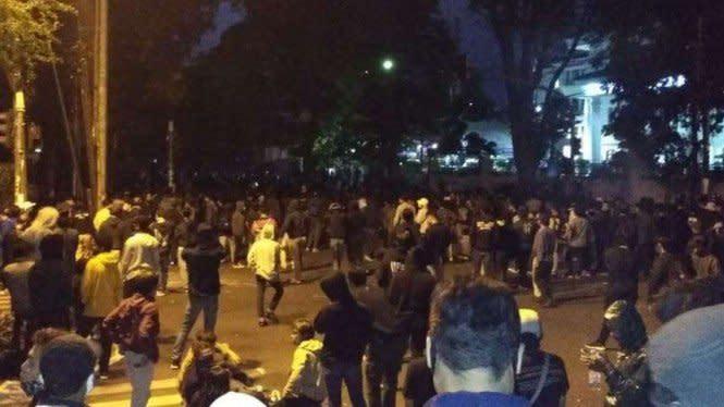 9 dari 10 Demonstran Omnibus Law Ditangkap di Bandung adalah Mahasiswa