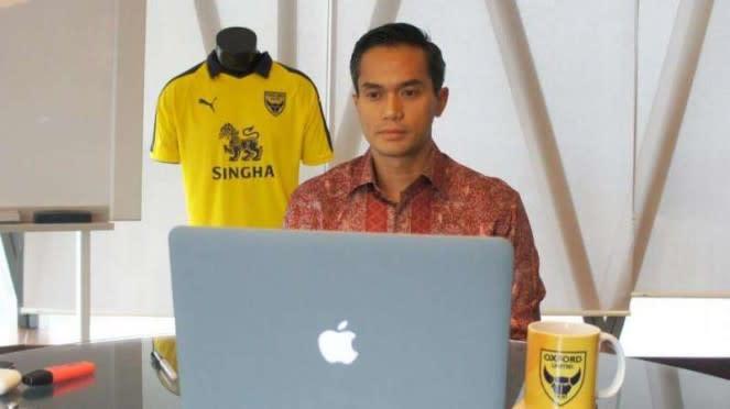Pemilik Oxford United, Anindya Novyan Bakrie