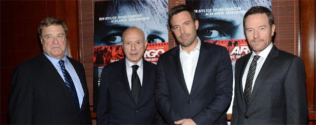 The A-plus list steps out to fete Ben Affleck and George Clooney for 'Argo'