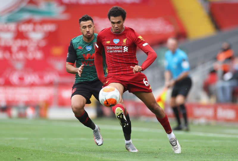 Alexander-Arnold could adapt to midfield switch, says Souness