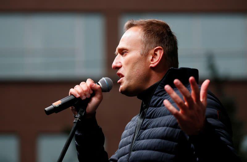Putin critic Navalny was poisoned with Novichok nerve agent, Merkel says