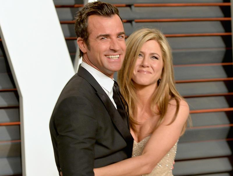 Justin Theroux and Jennifer Aniston were together from 2011 until late 2017. Photo: Getty Images