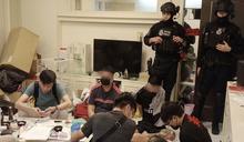 三線詐欺集團假扮檢警調 警方直搗機房逮捕17人