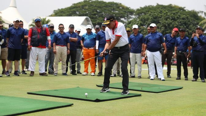 Menpora Apresiasi Ikastara Gelar Satu Nusantara Happy Golf Tournament