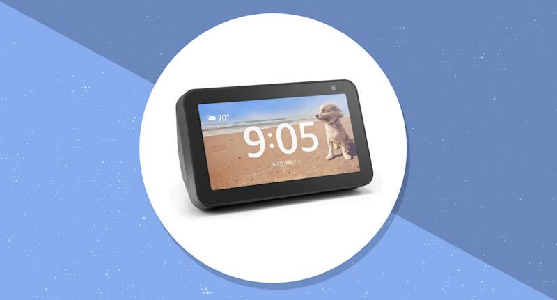 Save $40 on the new Echo Show 5. (Photo: Amazon/Yahoo Lifestyle)