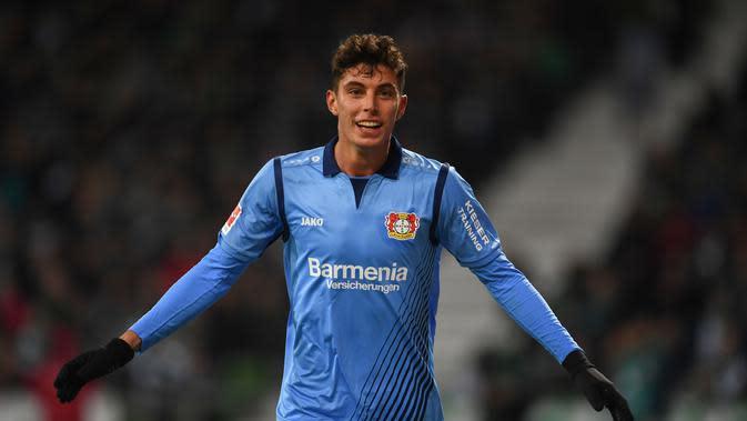 Kai Havertz (Bayern Leverkusen). (AFP/Patrik Stollarz)