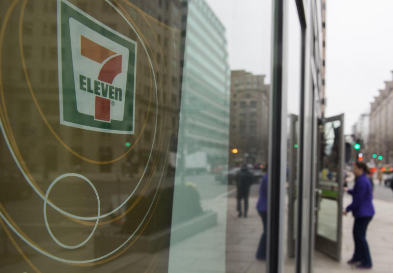 A 7-Eleven store personnel in KL has tested positive for Covid-19. — AFP pic
