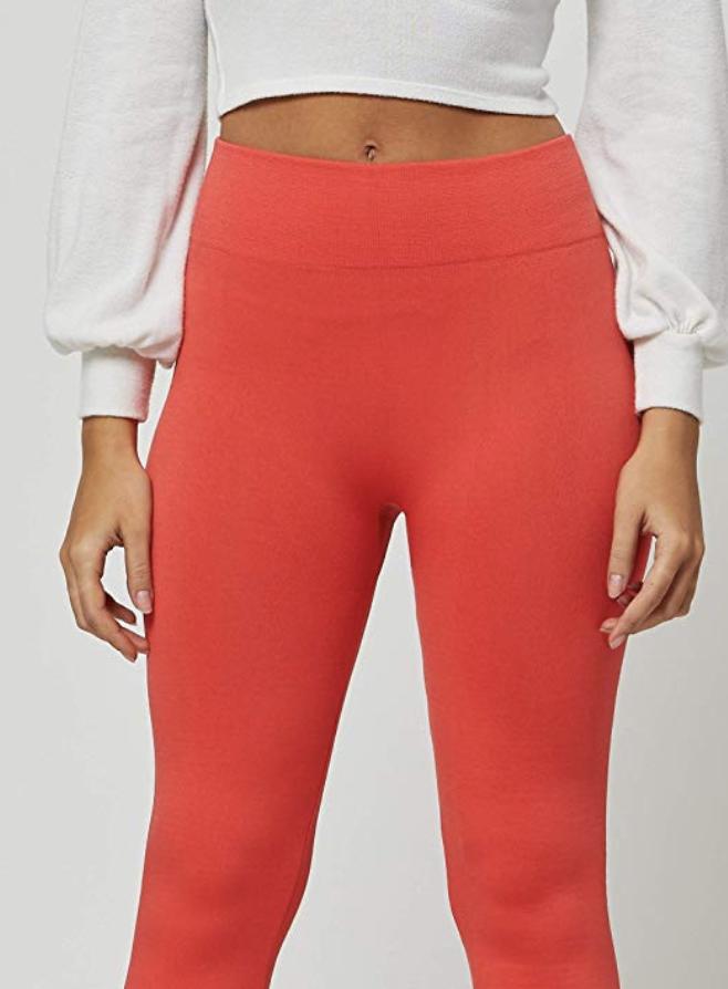 Premium Women's Fleece Lined Leggings. (Photo: Amazon)