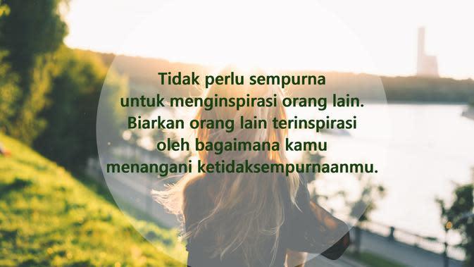 Kata-kata inspirasi hidup untuk mencintai diri sendiri (sumber: Pixabay)