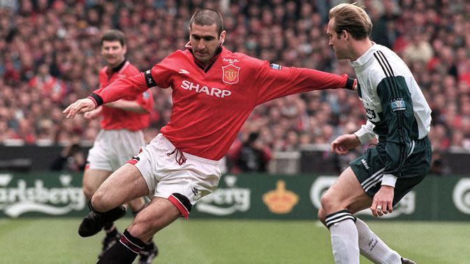 Legenda Manchester United, Eric Cantona. (AFP/Gerry Penny)