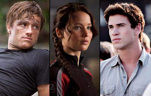 'The Hunger Games' Love Triangle: The odds aren't in their favor