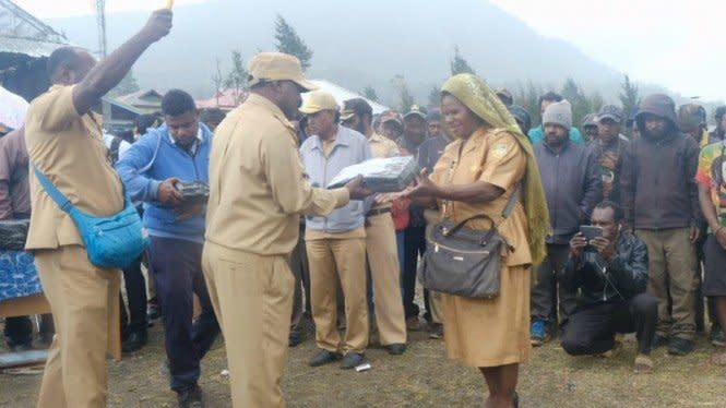 Pemerintah Salurkan Rp91 Miliar BLT untuk Kabupaten Puncak Papua
