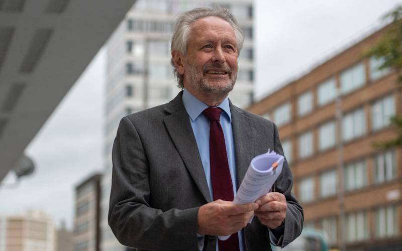 Sir Peter Soulsby appear to have finally warmed to the idea of reintroducing restrictions - Joe Giddens/PA