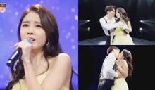 為了給妻子金思垠應援...SJ晟敏在《Miss Trot 2》登場!兩人跳了情侶舞,還在舞台上Kiss