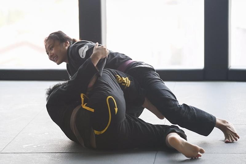 Singapore jiu-jitsu world champion Constance Lien will be taking part at the SEA Games for the first time. (PHOTO: Stefanus Ian/Yahoo News Singapore)