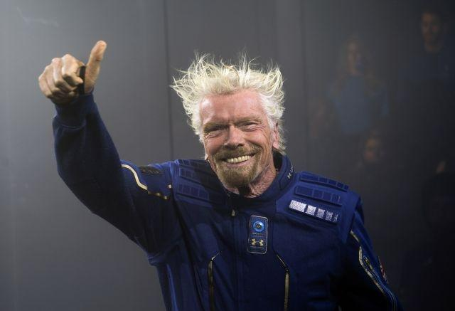 Richard Branson space-bound in early 2021 says Virgin Galactic