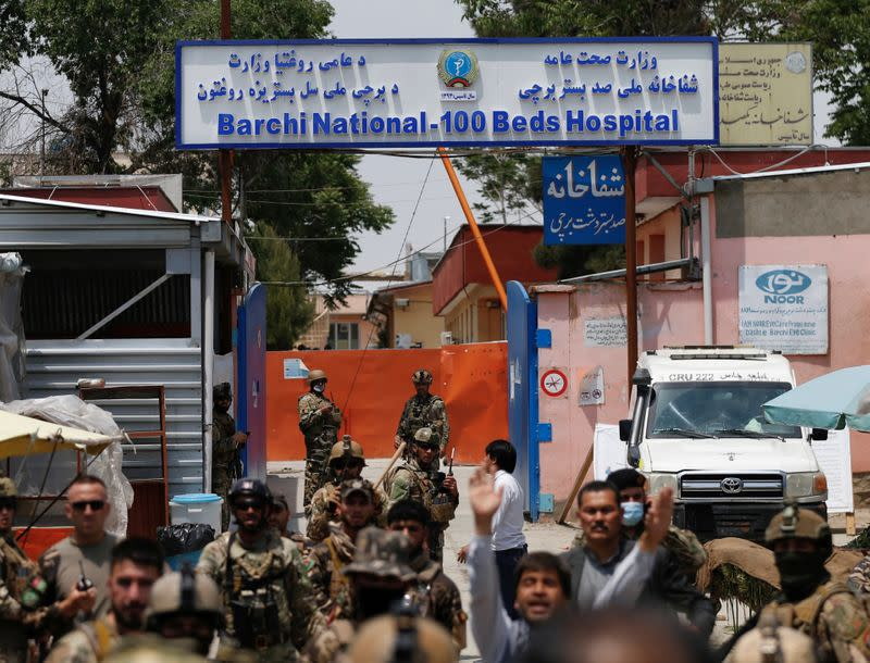 """WHO chief """"shocked and appalled"""" by Afghan clinic attack"""