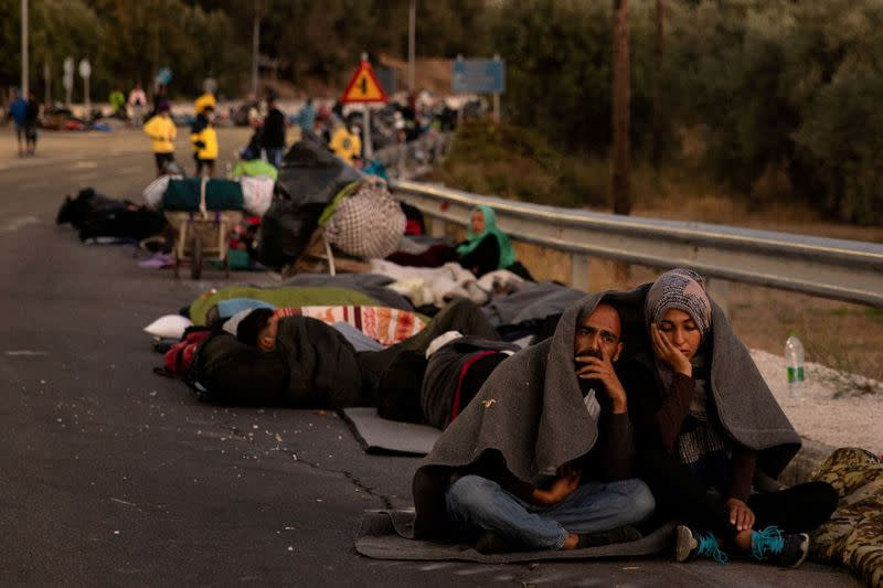Germany, France to take in minors from destroyed Greek camp, Merkel says