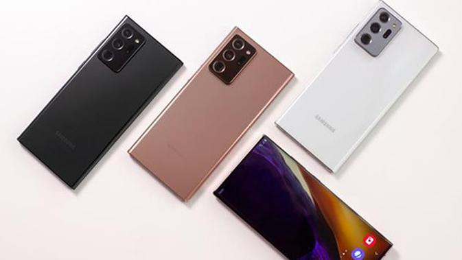 Varian warna Samsung Galaxy Note20 & Samsung Galaxy Note20 Ultra