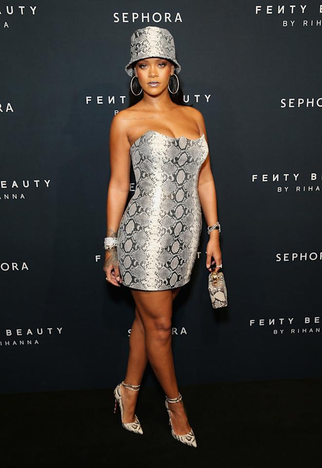 <p>Sydney was the last stop on Rihanna's Fenty Beauty World Tour after surprising fans in New York, Dubai, and Singapore over the last few weeks. Photo: Getty Images </p>