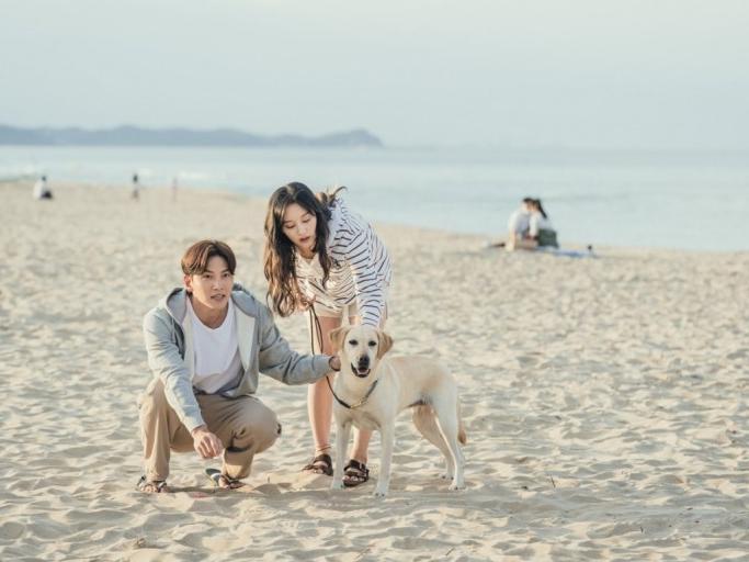《愛在大都會》海邊在濟州島取景拍攝