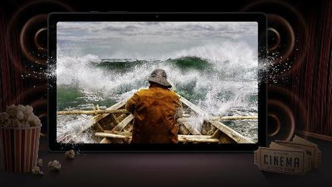 Samsung Galaxy Tab A7. Sumber foto: Document/Samsung Indonesia.