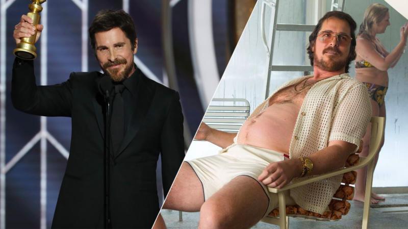 Christian Bale herniated a disc getting plump for <i>American Hustle</i>.