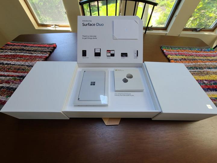 surface duo unboxing first impressions full package