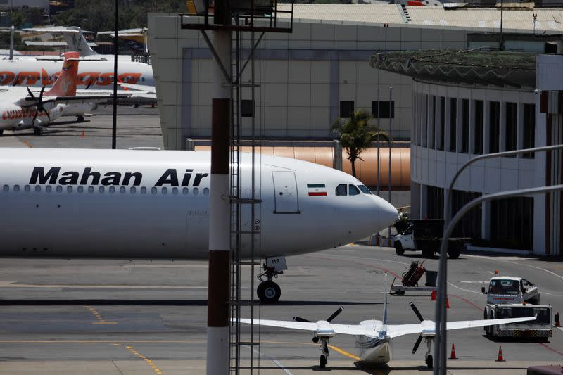 U.S. fighter jets near Iranian passenger plane over Syrian airspace: pilot