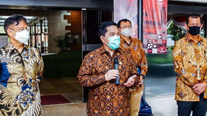 Erick Thohir Ungkap 1,5 Juta Orang Bakal Dapat Prioritas Vaksinasi