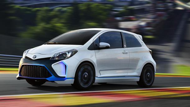Toyota Yaris Hybrid-R concept with 414 hp makes case for sexy hybrids