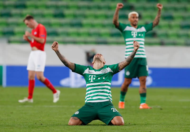 Ferencvaros, Dynamo and Olympiakos reach Champions League group stage