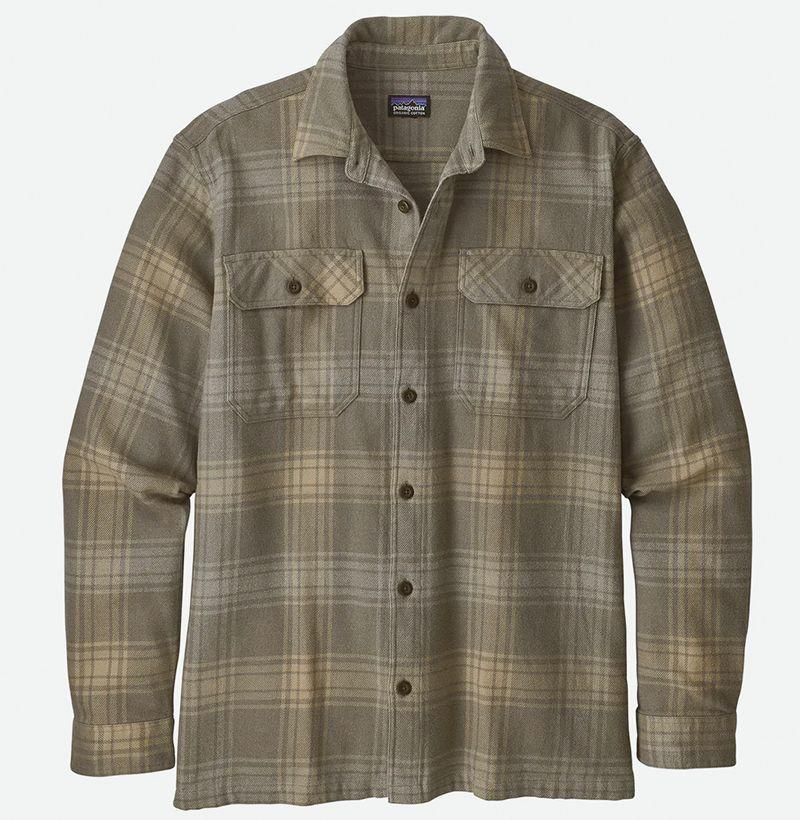 """<p><strong>Patagonia</strong></p><p>huckberry.com</p><p><strong>$48.98</strong></p><p><a href=""""https://go.redirectingat.com?id=74968X1596630&url=https%3A%2F%2Fhuckberry.com%2Fstore%2Fpatagonia%2Fcategory%2Fp%2F62582-l-s-natural-dye-fjord-flannel-shirt&sref=https%3A%2F%2Fwww.esquire.com%2Fstyle%2Fmens-fashion%2Fg12211292%2Fbest-flannel-shirts-men%2F"""" target=""""_blank"""">Buy</a></p><p>And its sturdy, hard-wearing counterpart—also for less than $50! </p>"""