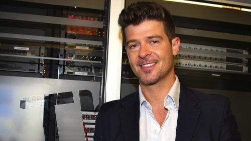 Robin Thicke Sues to Protect 'Blurred Lines' from Marvin Gaye's Family (Exclusive)