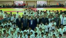 全國中正盃柔道錦標賽 近3000位選手在崑山科大展開競技