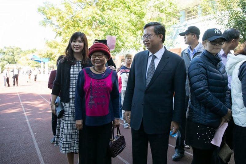 ▲桃園市長鄭文燦母親、鄭邱碧回女士辭世,享壽85歲,7月4日舉行告別式。(圖/資料照片)