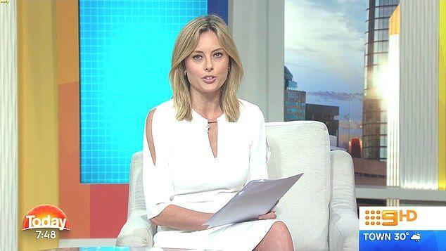 Allison Langdon has been the popular host of Weekend Today for the past two years. Photo: Channel Nine