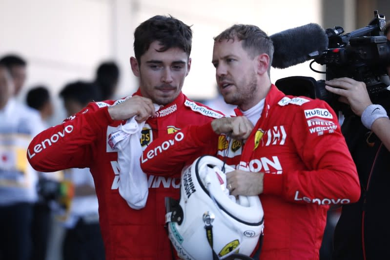 Ferrari say they have cleared the air after Brazil collision