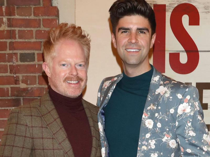jesse tyler ferguson and justin mikita march 2020
