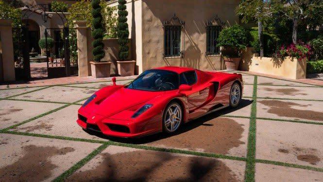 Mobil Ferrari Berusia 17 Tahun Dilelang, Harganya Bikin Kaget