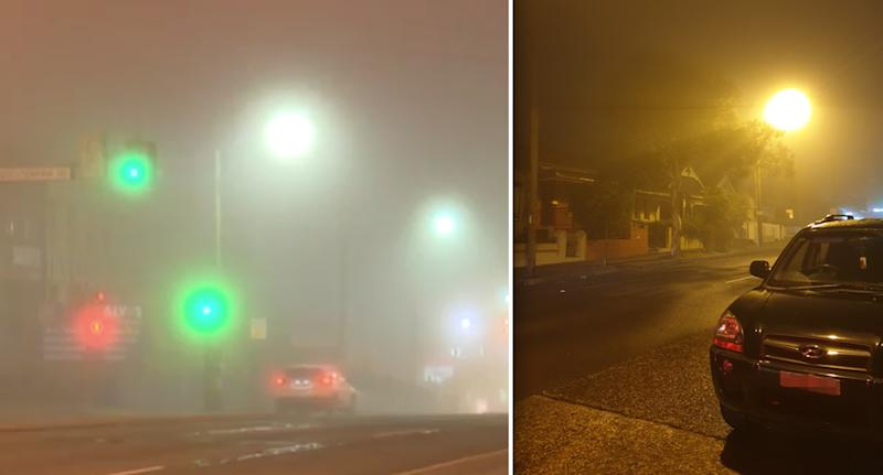 Flights delays and traffic warning as thick fog blankets Sydney