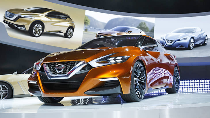 Nissan Sport Sedan Concept angles for a more forceful Maxima