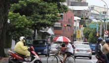 颱風外圍環流影響 台北出現間歇性雨勢 (圖)